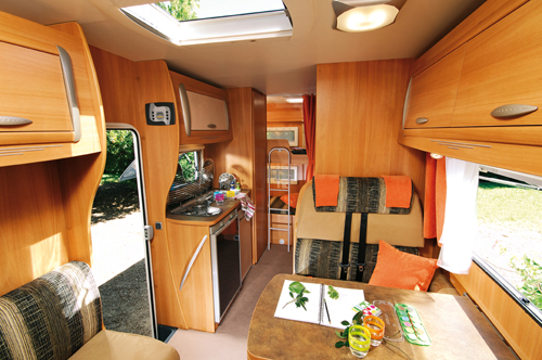 Chausson Flash Rear With Bunks