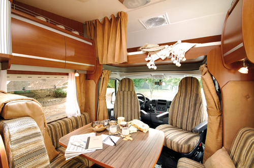 Chausson Welcome Dining Area & Cab