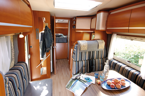 Chausson Welcome Rear Fixed Transverse Bed