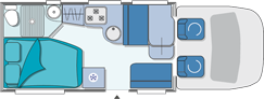 Chausson Flash 08 Layout