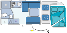 Chausson Flash 10 Layout