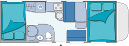 Chausson Flash 11 Layout