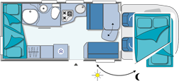 Chausson Flash 22 Layout