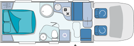 Chausson Flash 28 Layout