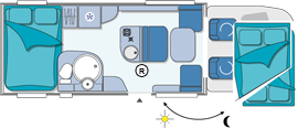 Chausson Suite Garage Layout