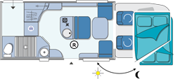 Chausson Suite Maxi Layout