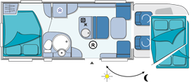 Chausson Suite Relax Layout