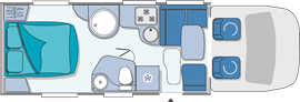 Chausson Welcome 78EB Layout